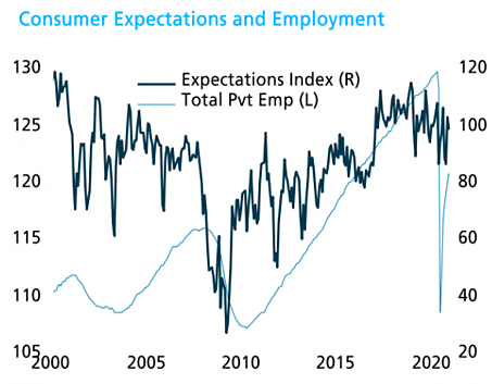 TS Lombard Consumer Expectations and Employment